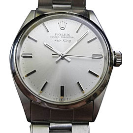 Rolex Air-King 5500 Vintage 34mm Mens Watch