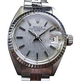 Rolex Oysterdate 6917 Vintag 26mm Womens Watch