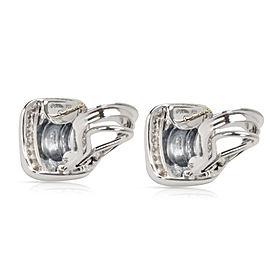David Yurman Cable Sterling Silver Diamond Ring