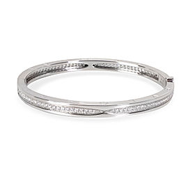 Bulgari B.Zero 1 Bangle18K White Gold 0.84 ctw Diamonds
