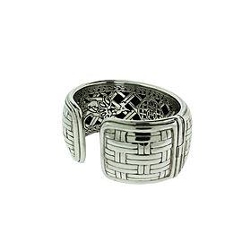 John Hardy wide Sterling Silver Bracelet