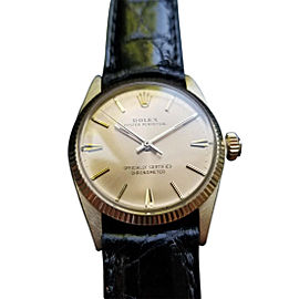 Rolex Oyster Perpetual 6551 Vintage 30mm Unisex Watch