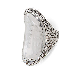 John Hardy Classic Saddle Ring Sterling Silver Size 7
