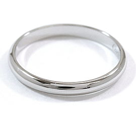Cartier Classic Ring Platinum Size 7.5