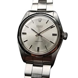 Rolex Precision Oyster 6426 Vintage 34mm Mens Watch