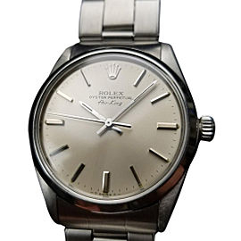 Rolex Air-King Oyster 5500 Vintage 34mm Mens Watch