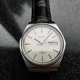 Seiko Type II 223-7010 Vintage 35mm Mens Watch