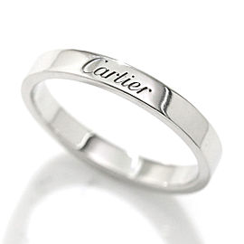 Cartier Ring Platinum Size 8