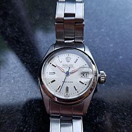 Rolex Oysterdate 6406 Vintage 25mm Womens Watch