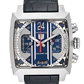 Tag Heuer Monaco 24 Steve McQueen Automatic Chronograph Watch CAL5111
