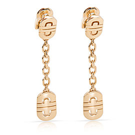 Bulgari Parentesi 18K Yellow Gold Earrings