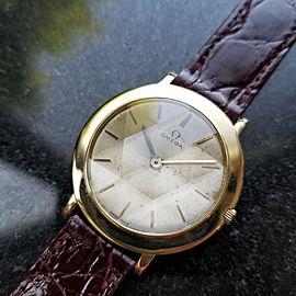 Omega Dress 14741 Vintage 31mm Mens Watch