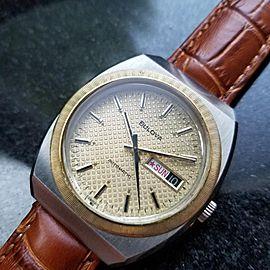 Bulova N7 37mm Vintage Mens Watch