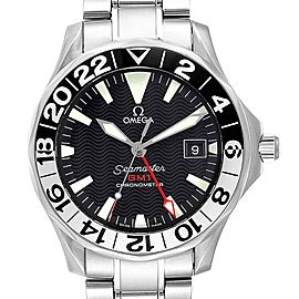 Omega Seamaster GMT Gerry Lopez Limited Edition Watch 2536.50.00 Card
