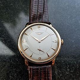 Longines Dress Vintage 35mm Mens Watch