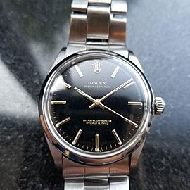 Rolex Oyster Perpetual 1002 34mm Vintage Mens Watch