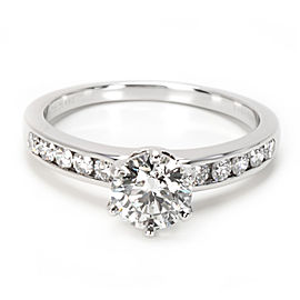Tiffany & Co. Platinum 1.50ctw. Diamond Rings Size 8.5