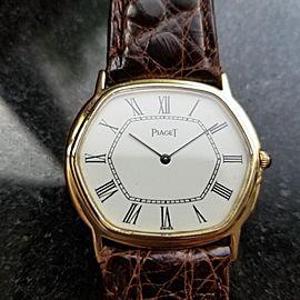 Piaget 9597 33mm Vintage Mens Watch