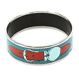 Hermes Enamel Emaiyu Bangle Bracelet