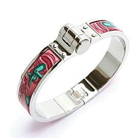 Hermes Silver Tone Brides de Gala Bangle Bracelet
