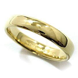 Tiffany & Co. Lucida 18K Yellow Gold Ring Size 11.5