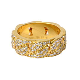 Cartier La Dona Ring 18K Yellow Gold with Diamond Size 8
