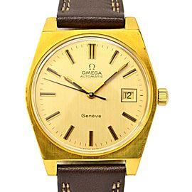 Omega Geneve 1660118 Vintage 35mm Mens Watch
