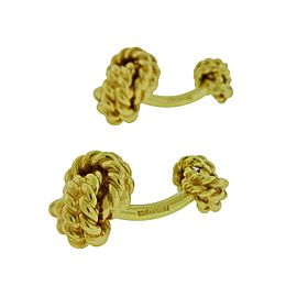Tiffany & Co. 14K Yellow Gold Cufflinks