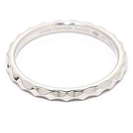 Louis Vuitton 18K WG Alianza Monogram Infini Ring Size 11.25
