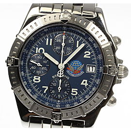 Breitling Chronomat Blue Impulse A13353 40mm Mens Watch