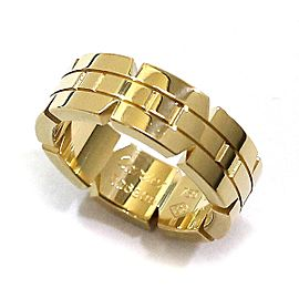 Cartier Tank Francaise Ring 18K Yellow Gold Ring Size 4