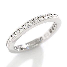 Harry Winston Platinum Diamond Ring Size 5
