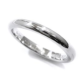 Chaumet Eternel Classic Ring Diamond Platinum Size 8.75