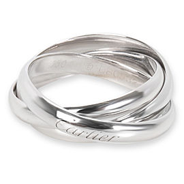 Cartier 18K White Gold Ring Size 9.25