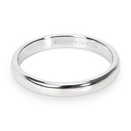 Tiffany & Co. Platinum Wedding Ring Size 8.25