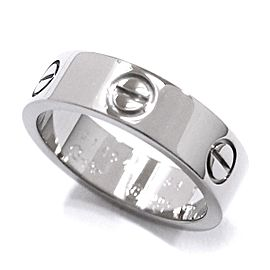 Cartier Love Ring 18K White Gold Size 7
