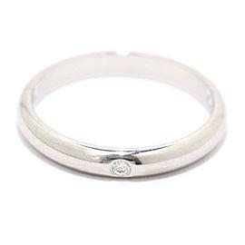 Cartier Platinum Diamond Ring Size 4