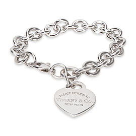 "Tiffany & Co. ""Return to Tiffany"" Heart Tag Sterling Silver Bracelet"