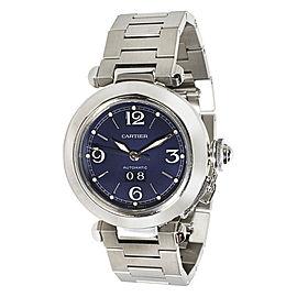 Cartier Pasha W31047M7 35mm Mens Watch