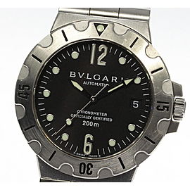 Bulgari Diagono Scuba SD38S 38mm Mens Watch