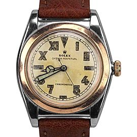 Rolex Oyster Perpetual 3133 Vintage 32mm Mens Watch