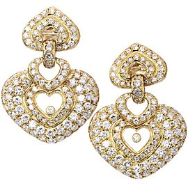 Ponte Vecchio 18K YG Diamond Earrings