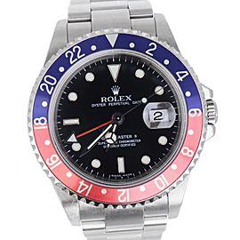 Rolex GMT-Master 'Pepsi' 16710 40mm Mens Watch