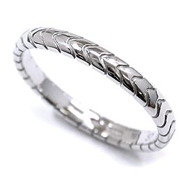 Bulgari Platinum Ring Size 8