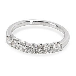 14K White Gold Diamond Ring Size 6.25