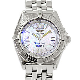Breitling Wings Lady A67350 31mm Womens Watch