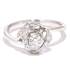TASAKI 18K WG Diamond Ring Size 6.25
