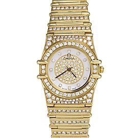Omega Constellation 1267.75.00 22.50mm Womens Watch