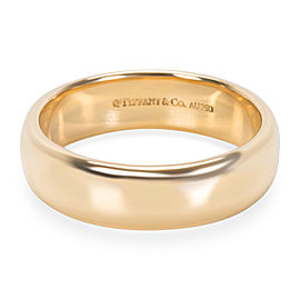 Tiffany & Co. 18K Yellow Gold Wedding Ring Size 9.5