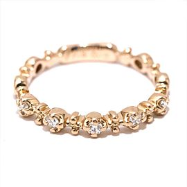 Ponte Vecchio Diamond Pinky Ring Size 2.5